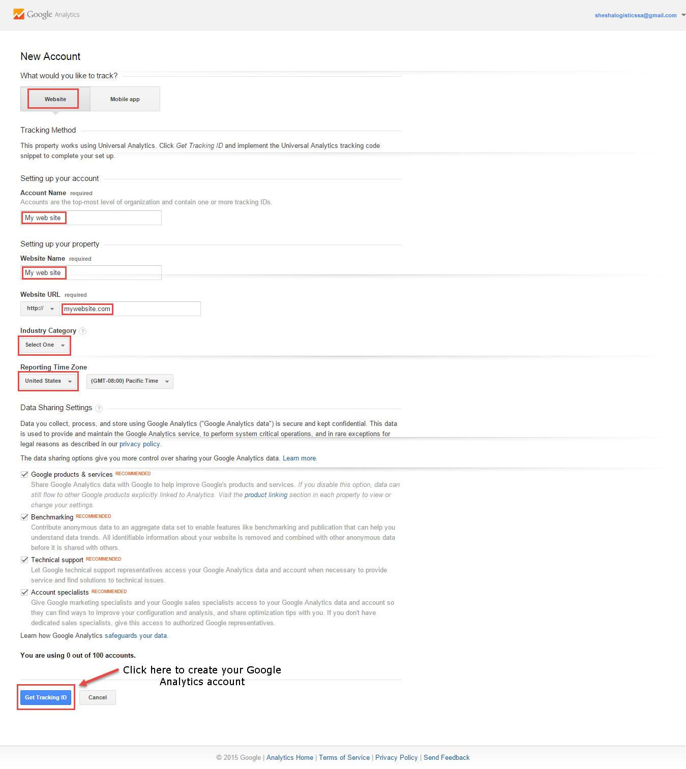 google-analytics-create-account
