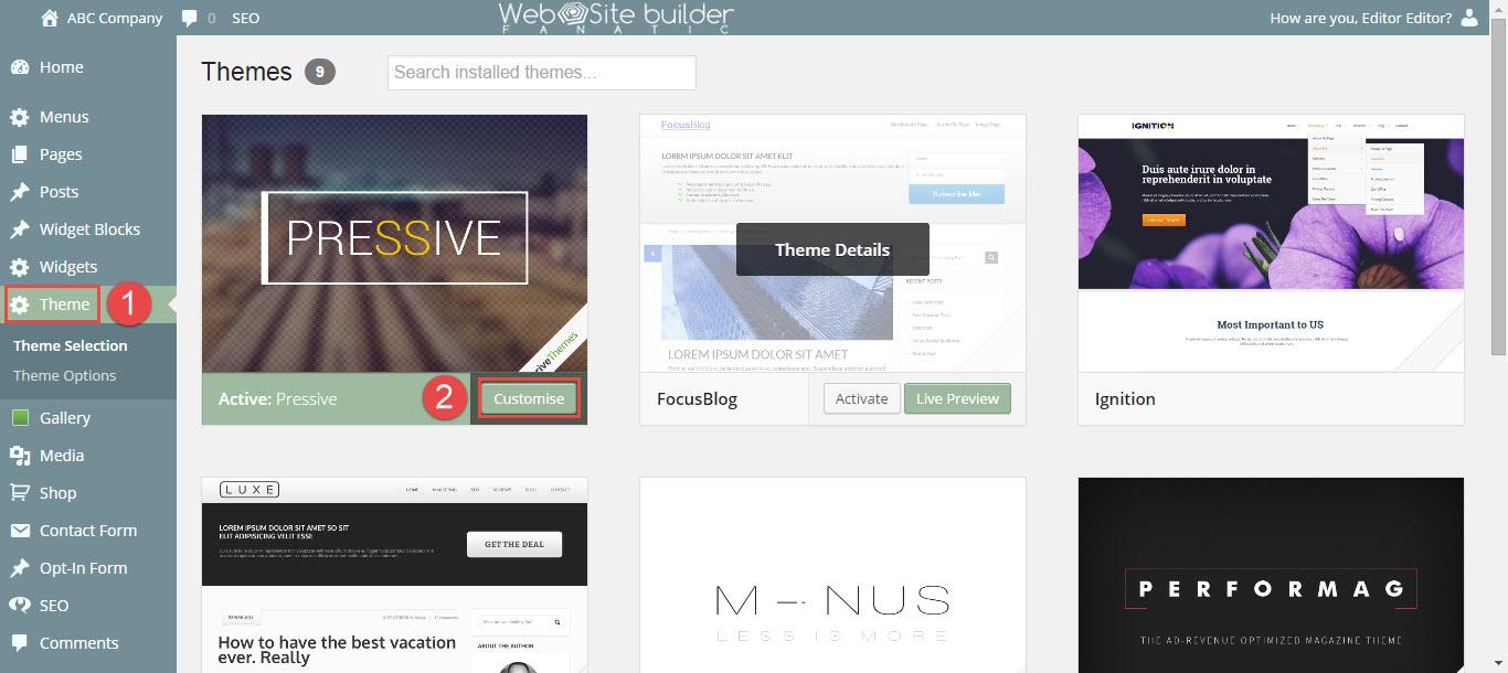 setup-shop-as-home-page-select-theme